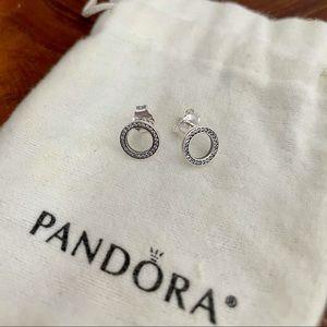 Pandora Earrings *Never Worn*